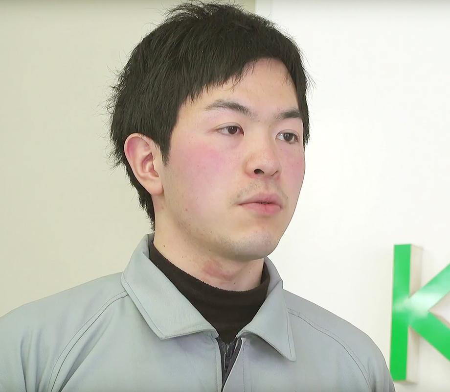 大内 駿さん